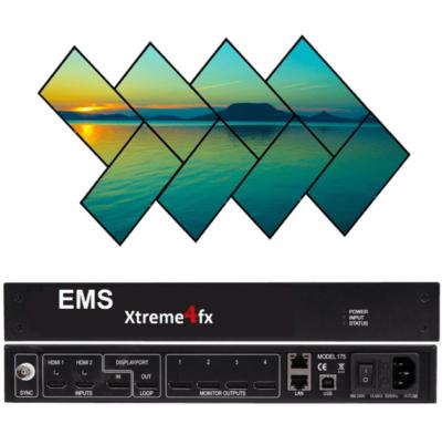 Xtreme4fx - 4K60 input, 4x HD outputs