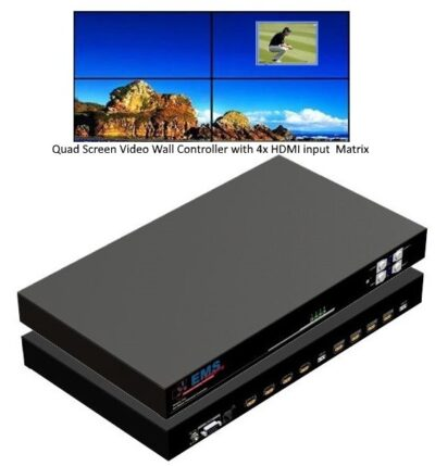 Xtreme4mx 4x4 HD Wall Controller with Matrix