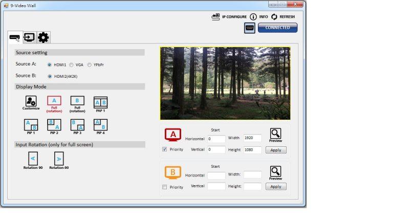 iVu9s-Pro - 9-Display 4K2K