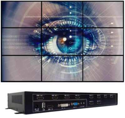 iVu9s+ - 9 Screen HD Wall Controller